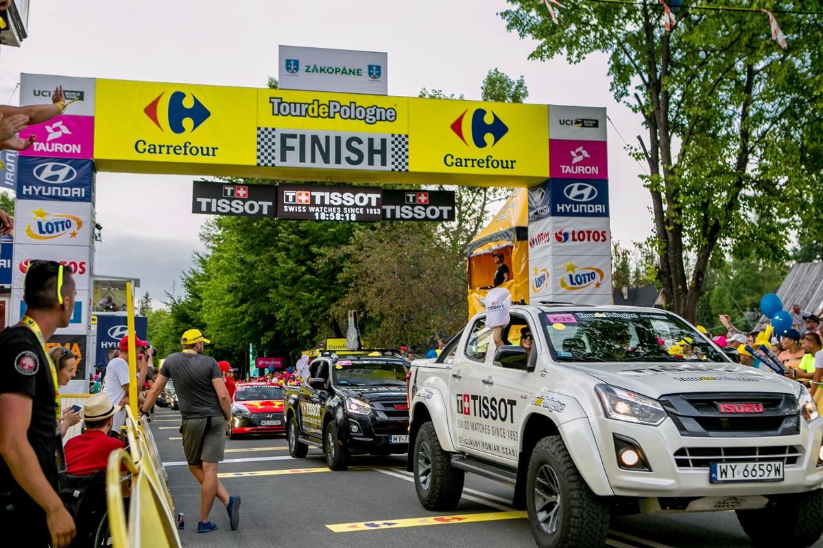 Meta wyścigu Tour de Pologne