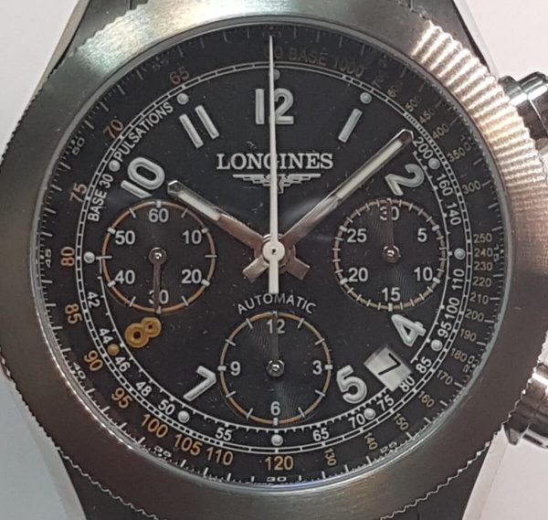 Współczesny model marki Longines – model Grande Vitesse Andre Agassi Foundation Limited Edition Chronograph L3.635.4.46.6,