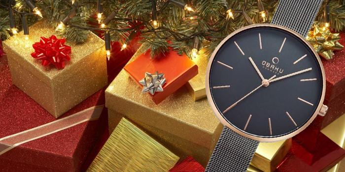 Zegarek Obaku na prezent bożonarodzeniowy