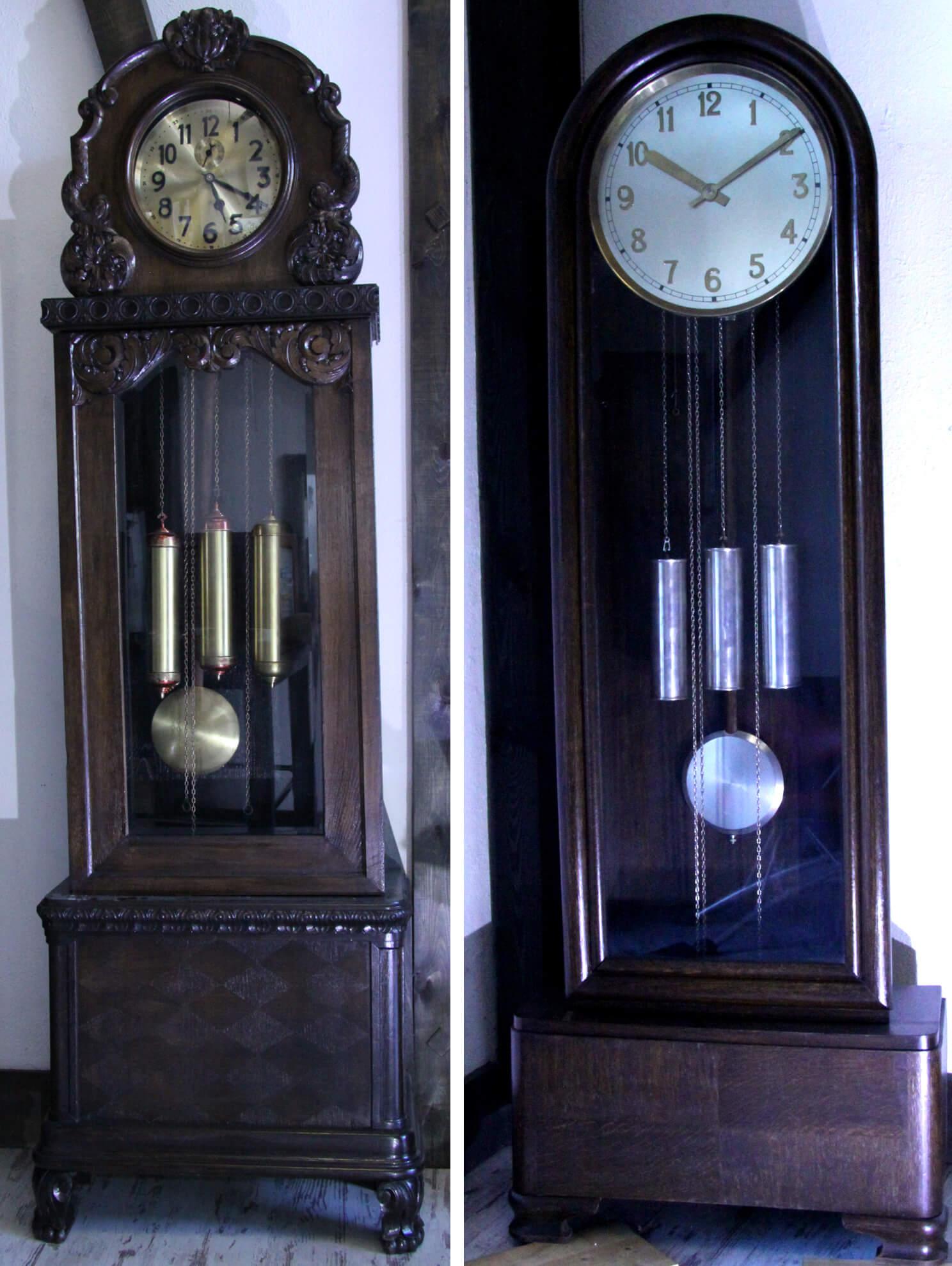 Zegary mechaniczne, stojące