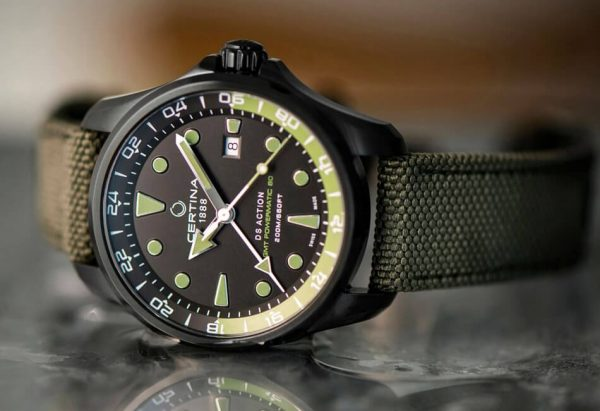Zegarek Certina z tradycyjnym kalendarzem