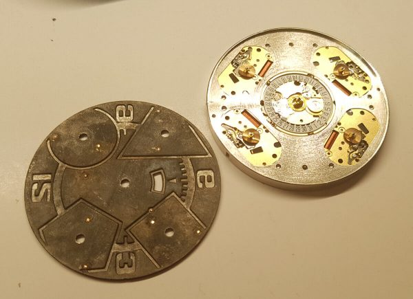 Tarcza zegarka Jacob&Co
