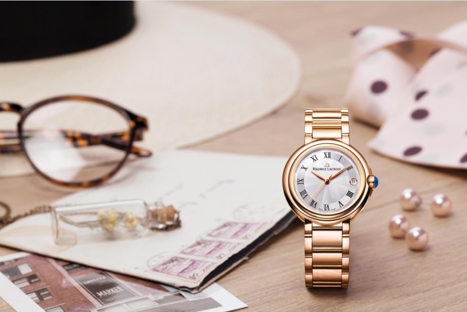 Zegarek damski Maurice Lacroix ze złotą kopertą