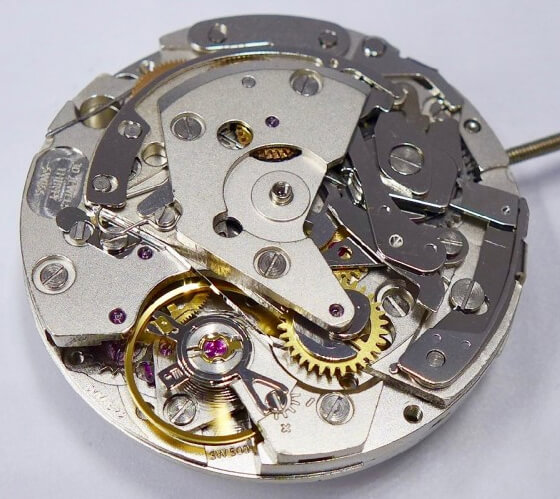 Mechanizm Selita SW500 - klon Vajoux 7750