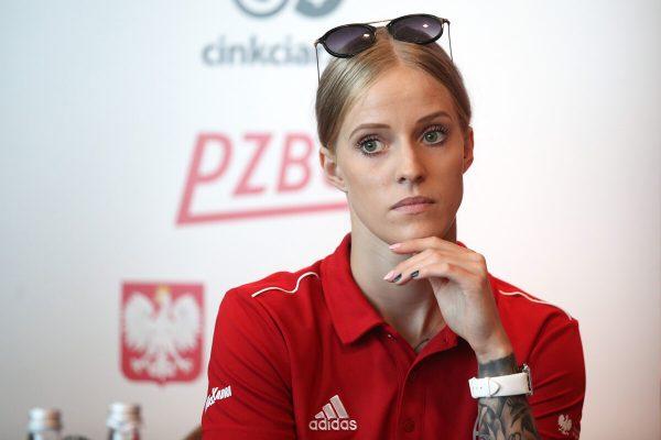 Angelika Stankiewicz w sesji zdjęciowej fotografa Piotra Kucza