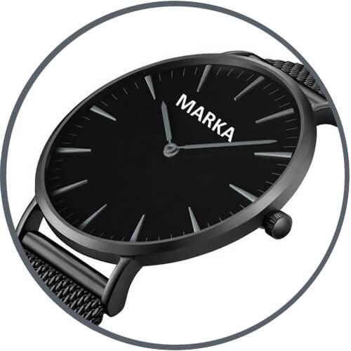 Markowy zegarek