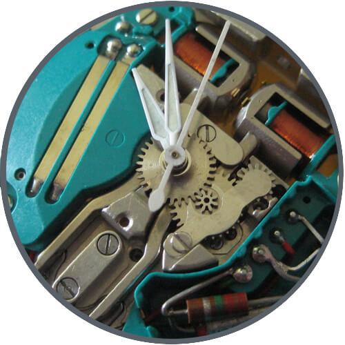 kamertonowy zegarek
