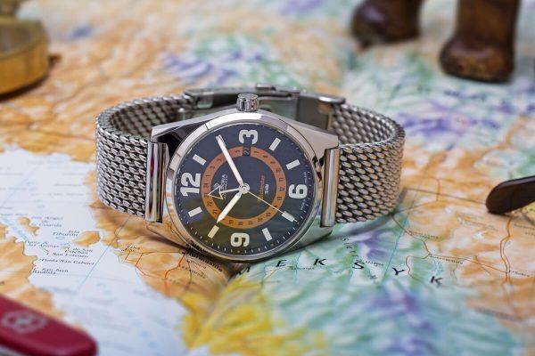 Zegarek Polpora Globtroter