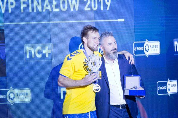 Tytuł MVP zawodów i zegarek otrzymał rozgrywający Luka Cindrić z PGE Vive Kielce