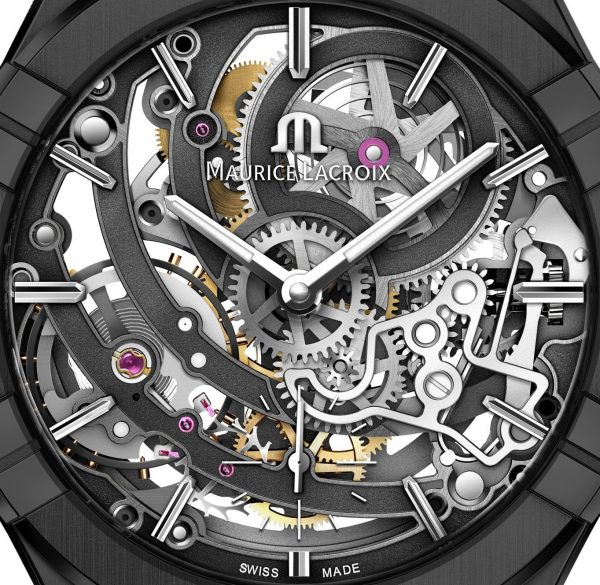 Aikon Skeleton Black Movement