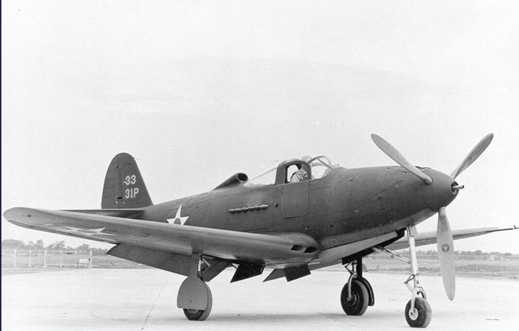 Samolot Airacobra z czasów drugiej wojny światowej