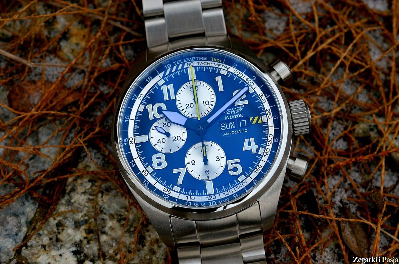 Lotnicze zegarki Aviator Airacobra P42 i P45