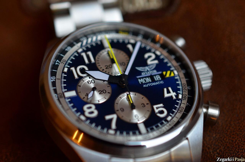 Lotniczy zegarek Aviator Airacobra P45