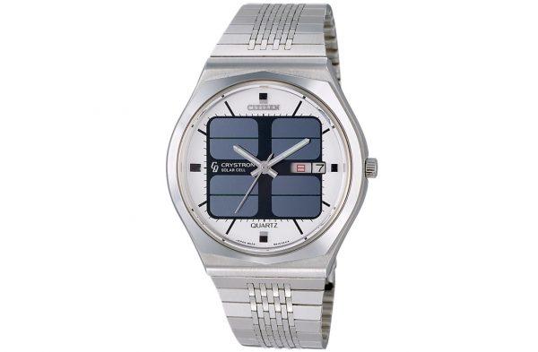 Jeden z pierwszych zegarków Citizen ładowanych światłem