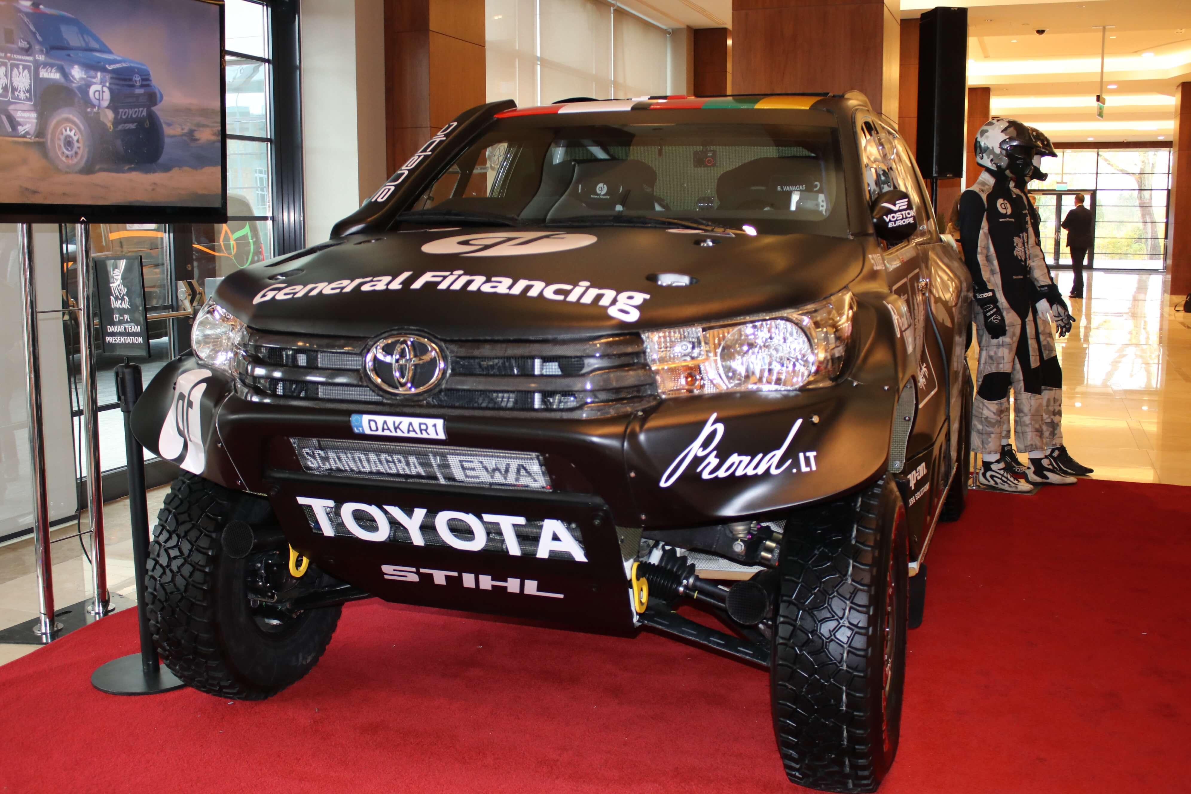 Samochód rajdowy na Rajd Dakar 2019