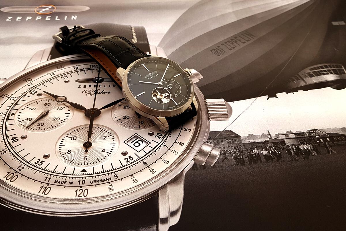 Ferdinand Graf von Zeppelin i zegarek Zeppelin Flatline 7364-2