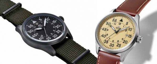 Lotnicze zegarki marki Orient