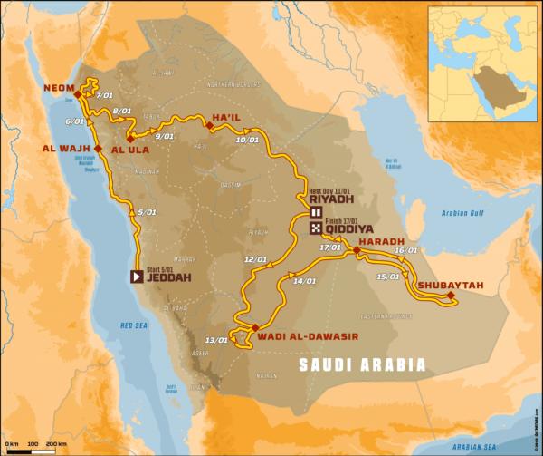 Dakar 2020 iVostok Europe