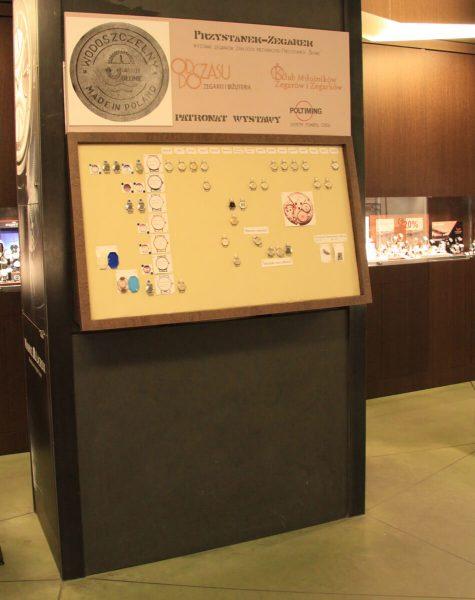 Pierwsza wystawa zegarków z Błonia