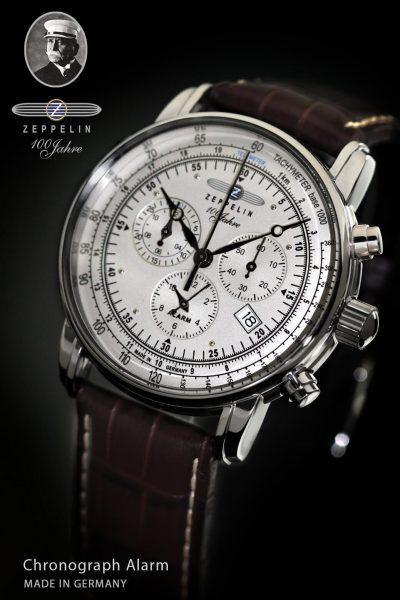 Zegarek marki Zeppelin na rocznicę śmierci Grafa Von Zeppelina