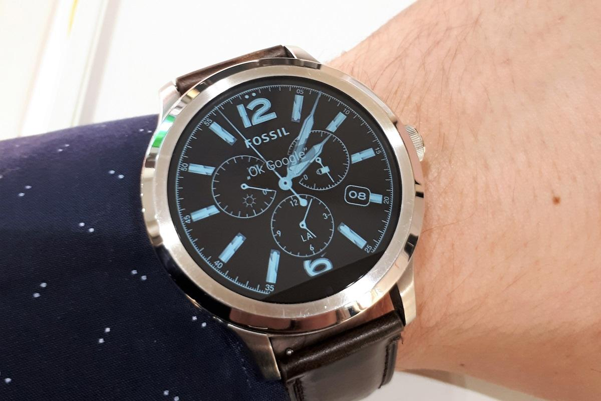 Fossil Q testowanie zegarka
