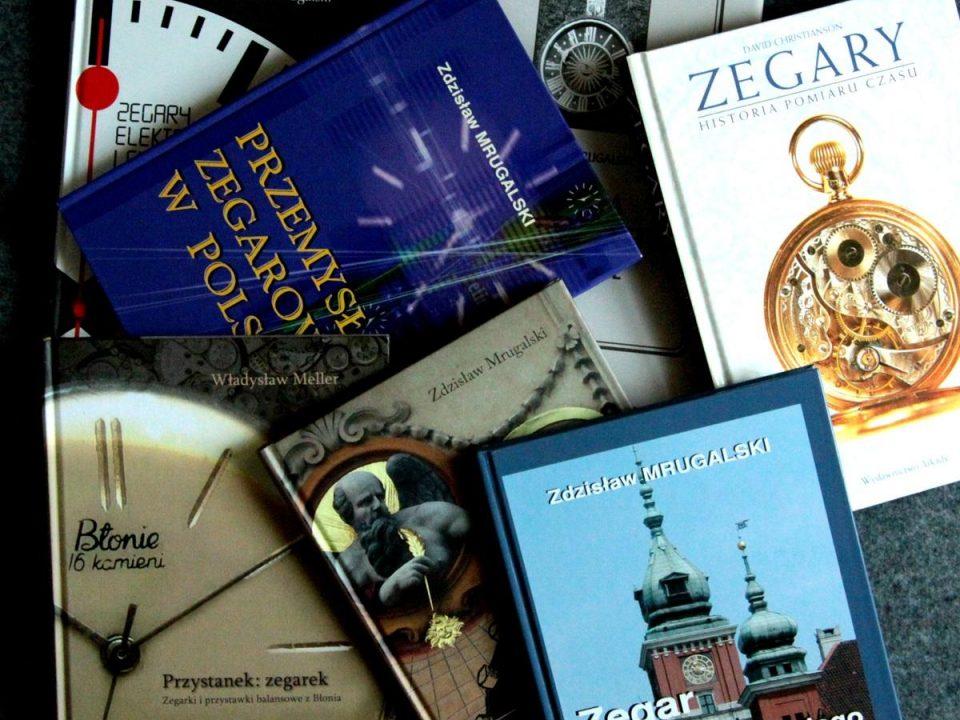 Zegarkowe książki na świąteczne prezenty