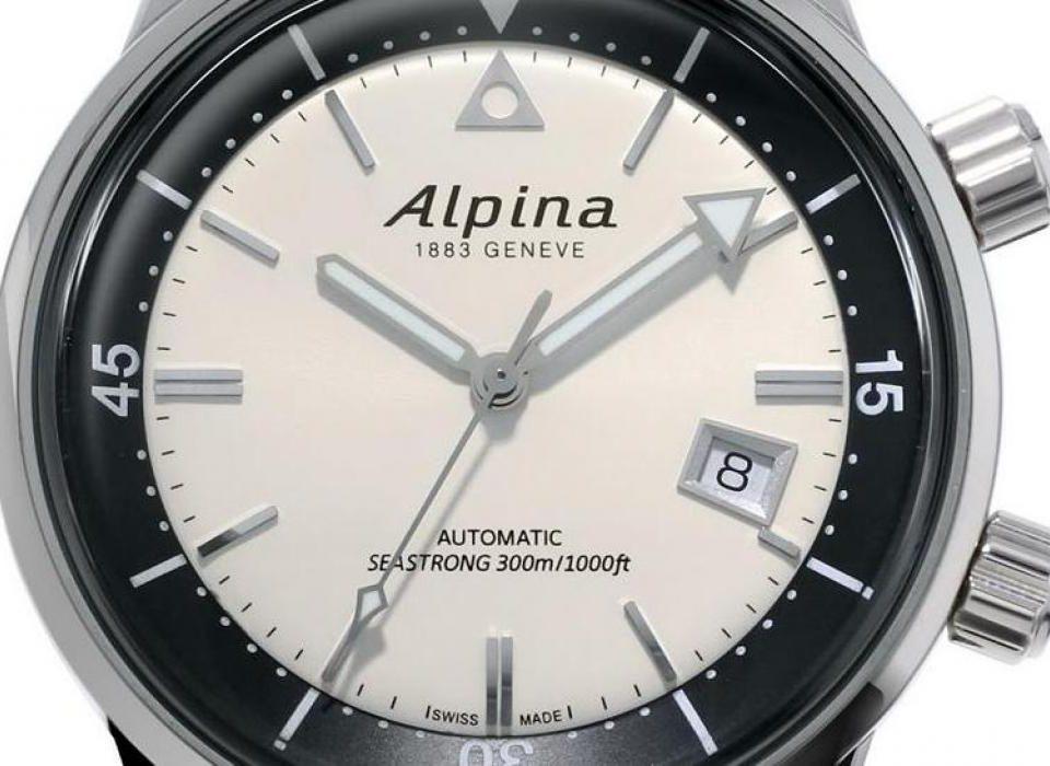 Kolejne wcielenie Alpiny Seastrong - Diver Heritage