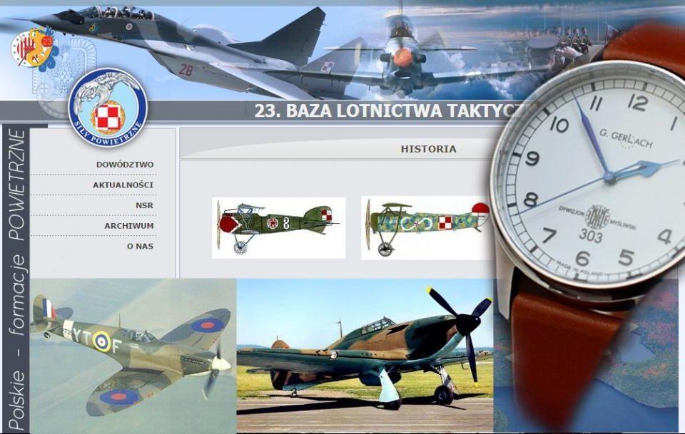 G. Gerlach – Dywizjon 303 – zegarek dla pilotów Wojska Polskiego