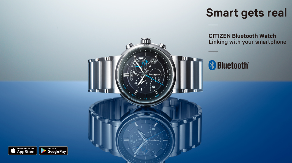 Citizen Bluetooth watch prezentacja
