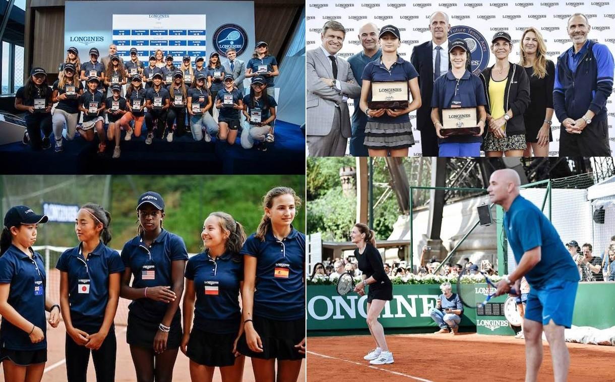 Uczestnicy i zwycięzcy Longines Future Tennis Aces 2018