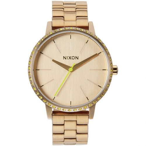Nixon KENSINGTON All Gold / Neon Yellow A099 1900-00