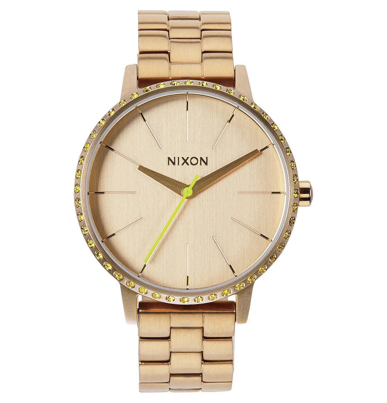 Nixon KENSINGTON All Gold / Neon Yellow A099 1900-00