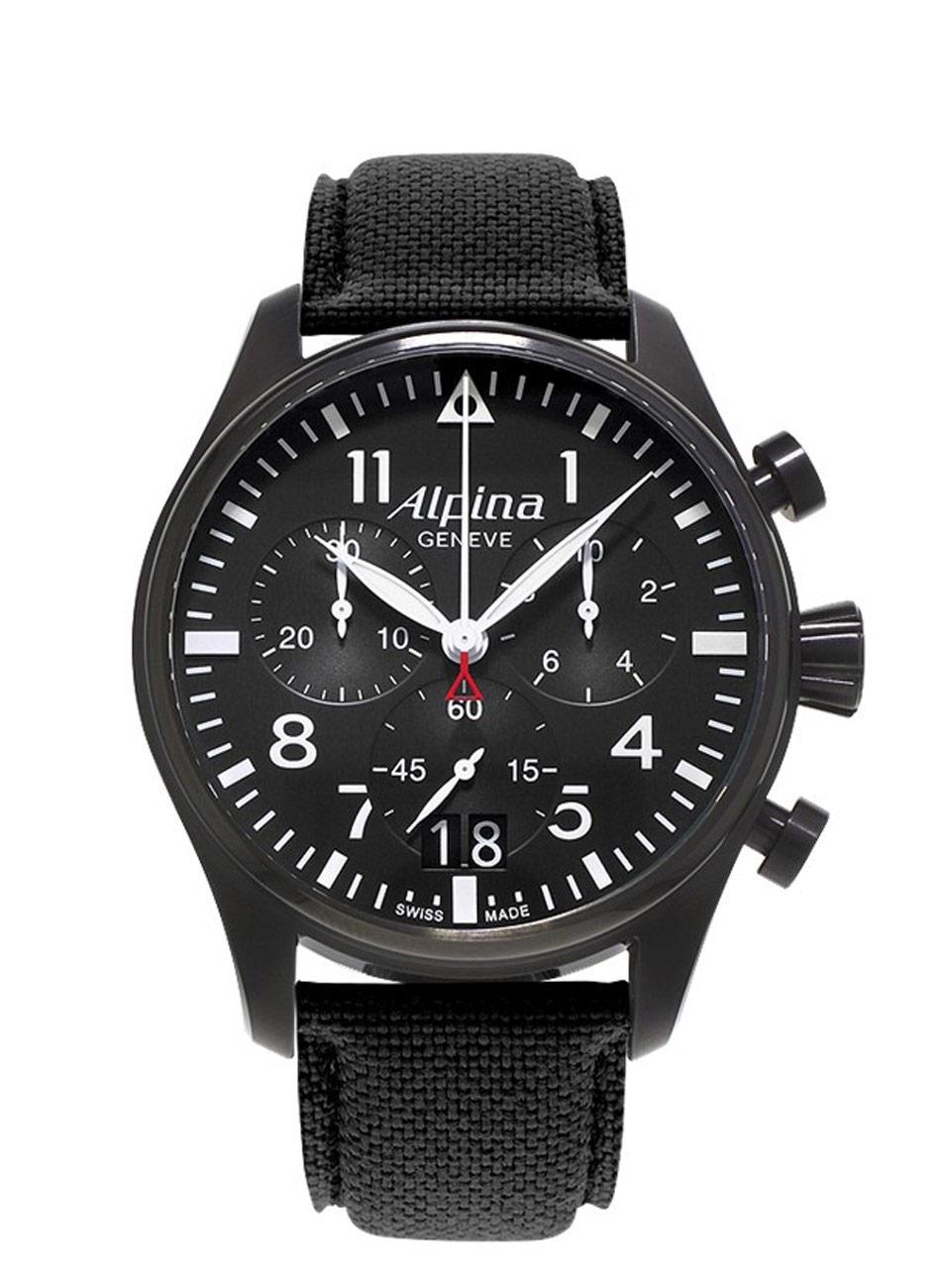 Alpina STARTIMER Pilot Big Date Chronograph AL-372B4FBS6