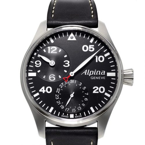 Alpina STARTIMER Pilot Manufacture Regulator AL-950B4S6
