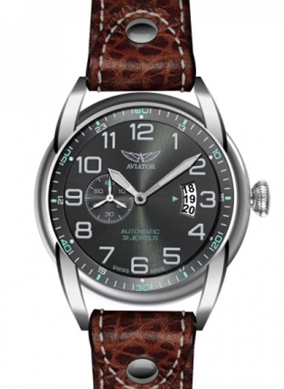 Aviator Swiss Made BRISTOL BULLDOG V.3.18.0.099.4