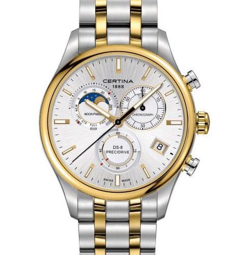 Certina DS-8 Chrono Moonphase Precidrive C033.450.22.031.00