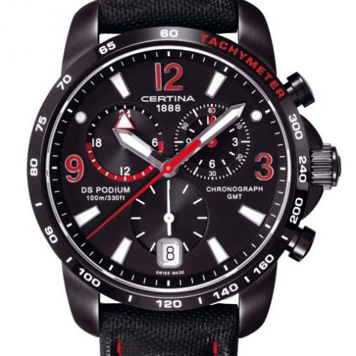 Certina DS PODIUM BIG SIZE   GMT C001.639.16.057.02