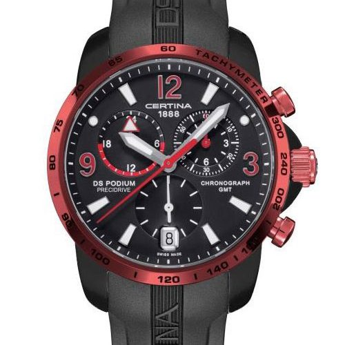 Certina DS PODIUM PRECIDRIVE GMT C001.639.97.057.02