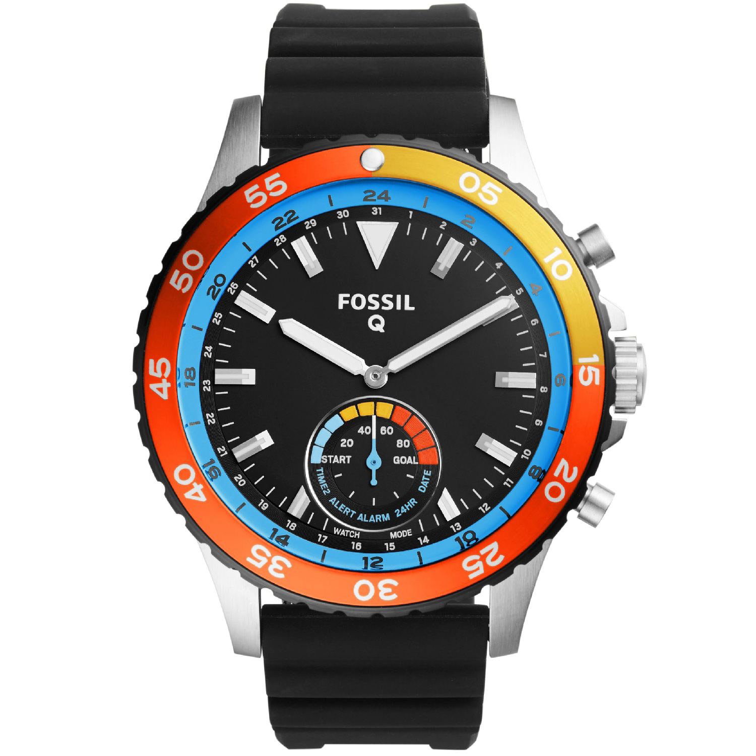 Fossil Q Crewmaster Hybrid Watch FTW1124