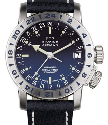 Glycine AIRMAN 17 World Timer 391718