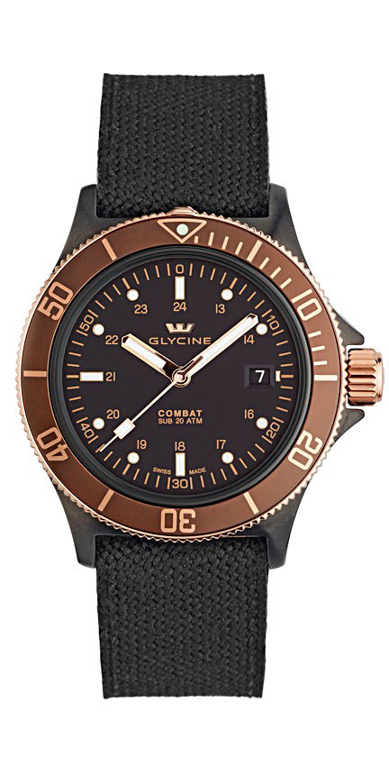 Glycine Combat SUB Golden Eye 3863.399