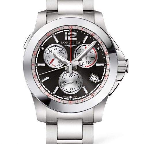 Longines Conquest Chronograph Horse Jumping L3.701.4.56.6