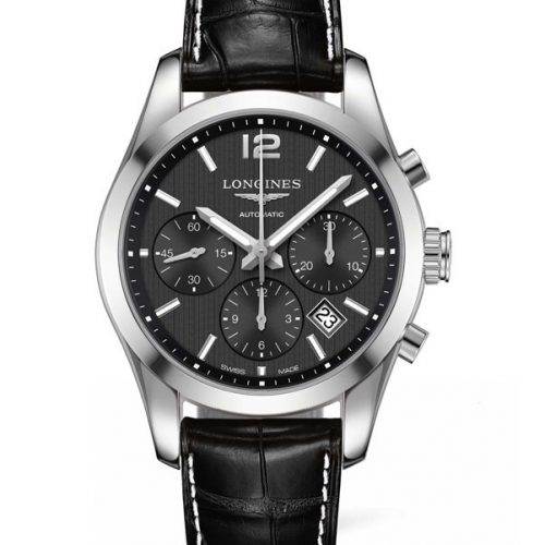 Longines Conquest Classic Column- wheel Chronograph L2.786.4.56.3