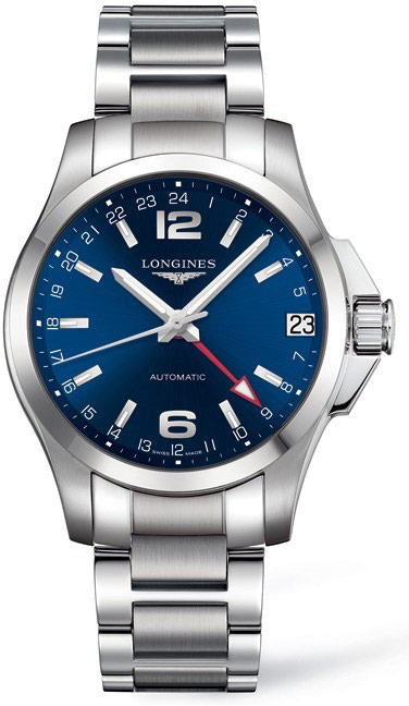 Longines Conquest GMT L3.687.4.99.6