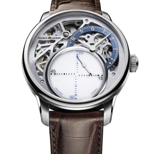 Maurice Lacroix Masterpiece MYSTERIOUS SECONDS MP6558-SS001-094
