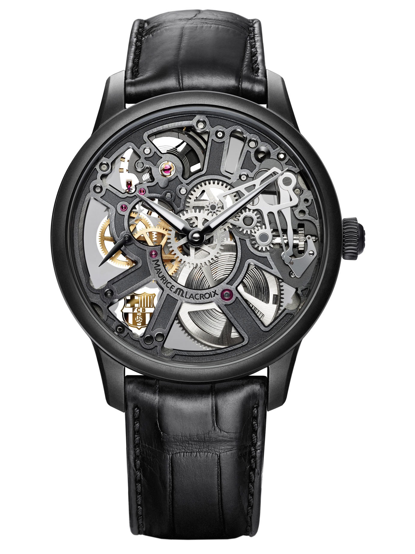 Maurice Lacroix Masterpiece SQUELETTE - FC BARCELONA MP7228-PVB01-002