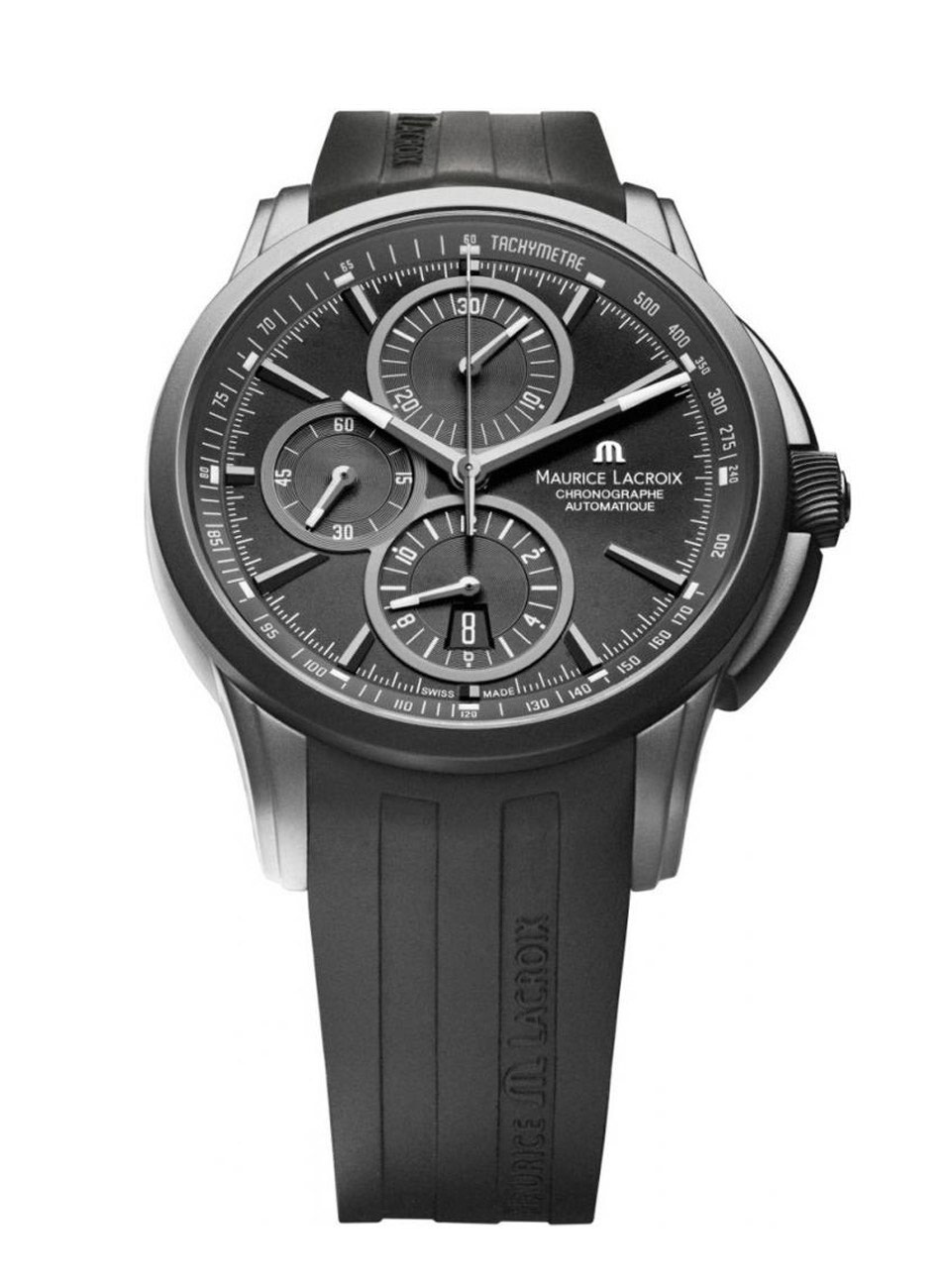Lacroix Chronographe Ss001 Pontos Maurice Pt6188 331 EDeWIYbH29