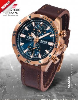 Vostok Europe ALMAZ Space Station 6S11/320B262
