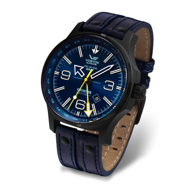 Vostok Europe EXPEDITION NORTH POLE-1 Dual Time 515.24H/595C503
