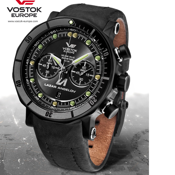 Vostok Europe LAZAR ANGELOV Lunokhod Limited Edition 6S21/620E372